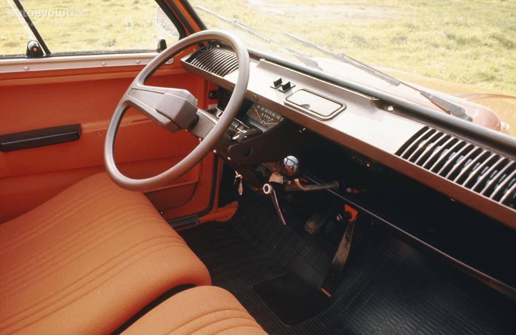 Dyane 6 1974 intérieur