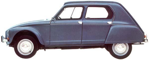 Dyane 6 confort 1968