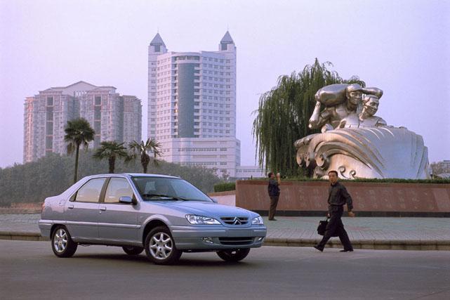 C-Elysée 2003 en situation