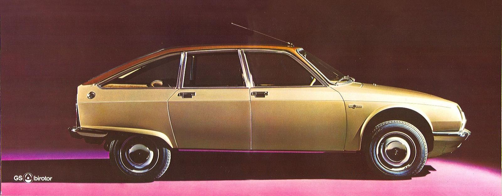 GS Birotor 1973 modèle rotatif suivant la M35