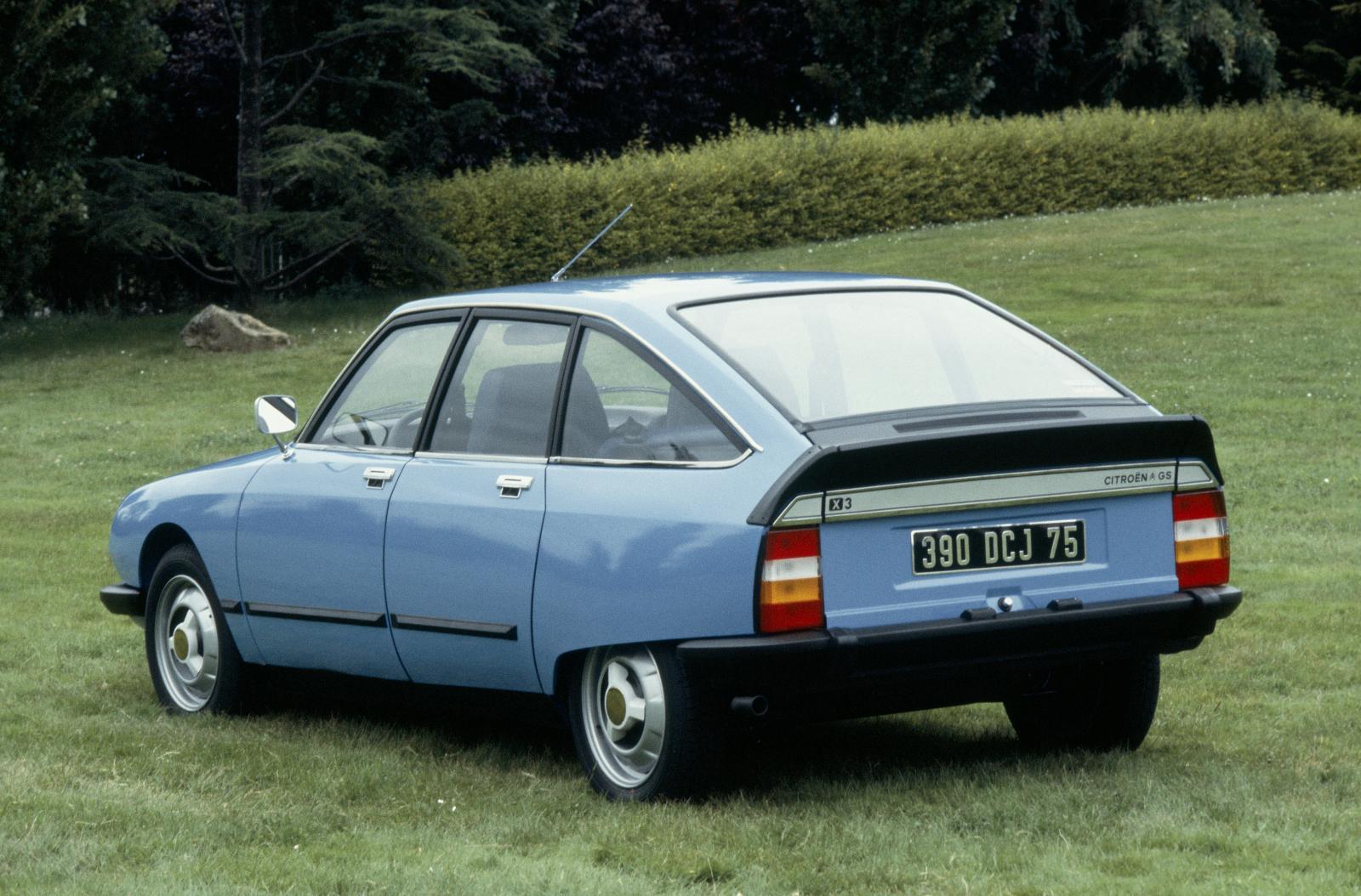 GS X3 1979 3/4 arrière