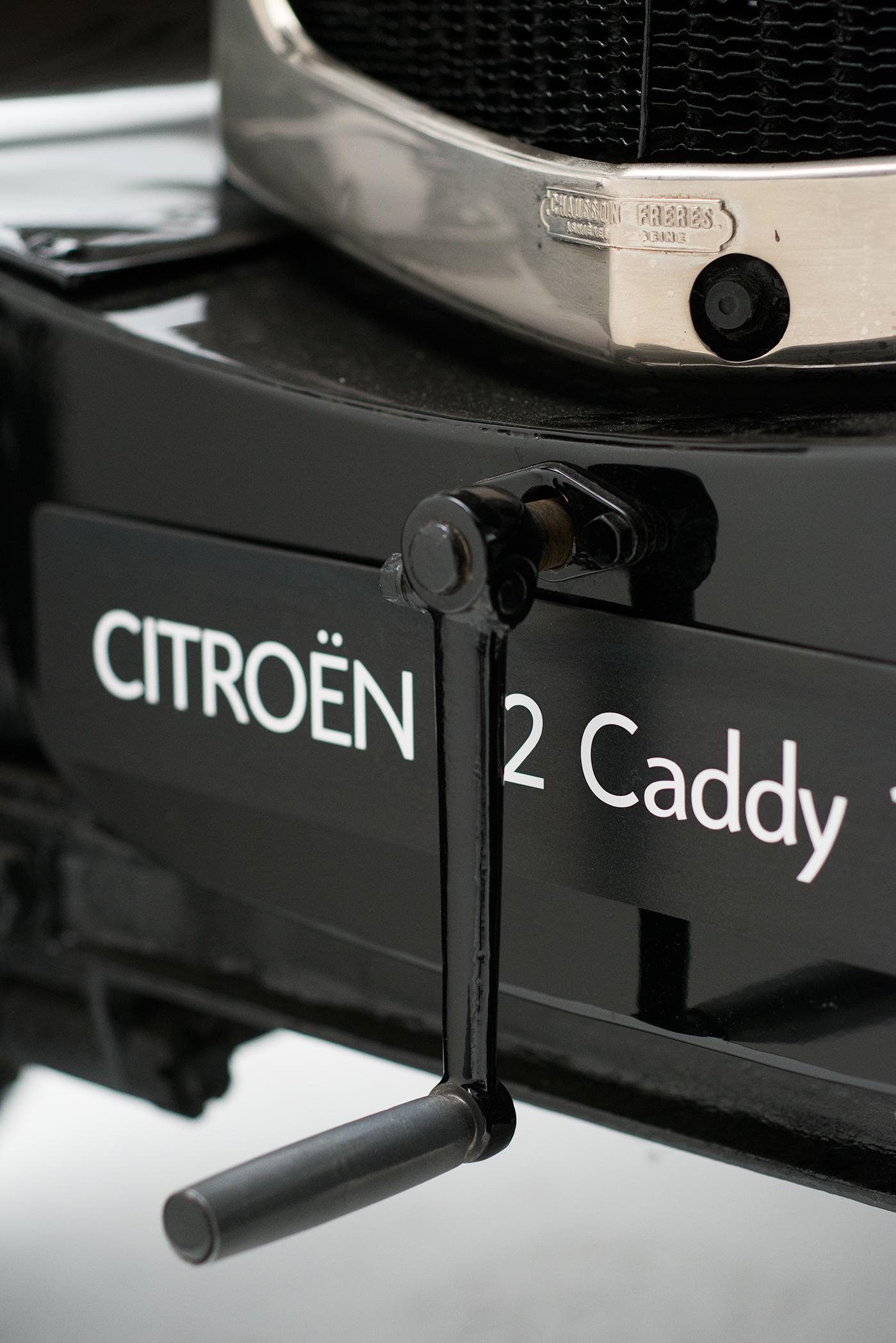 B2 Caddy - detalhe