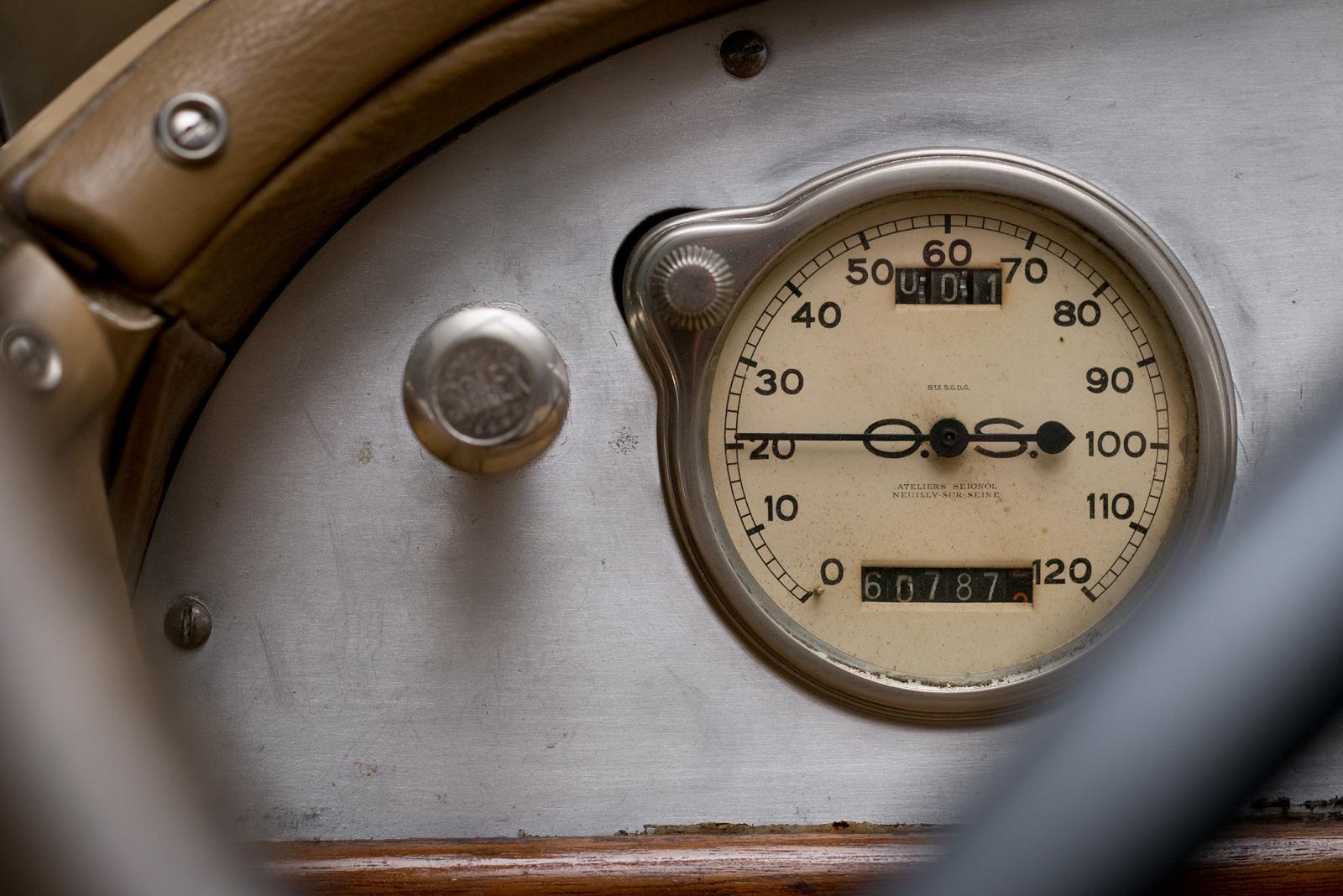 B2 Caddy – indicador de velocidade