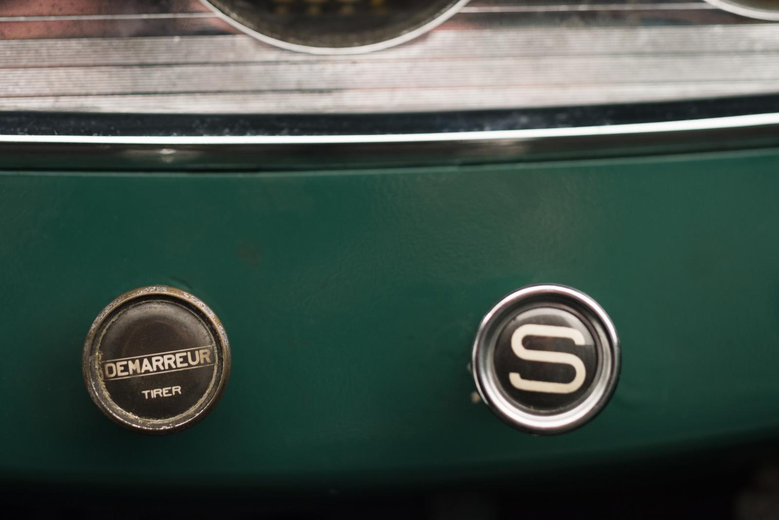 C4G Roadster - botões centrais