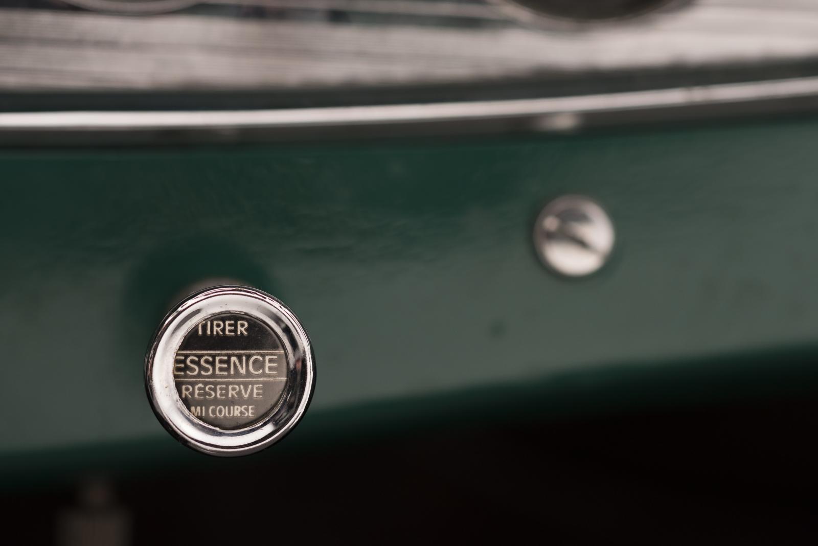 C4G Roadster - botão de arranque