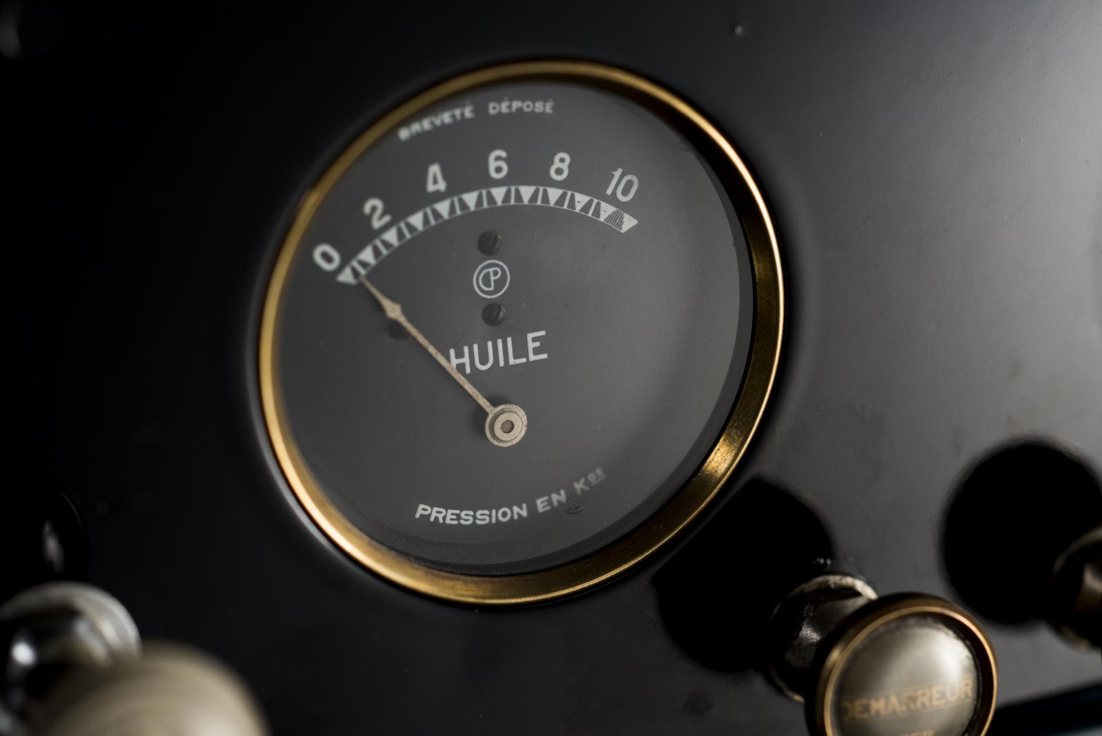 Nível de óleo C4 Fourgon