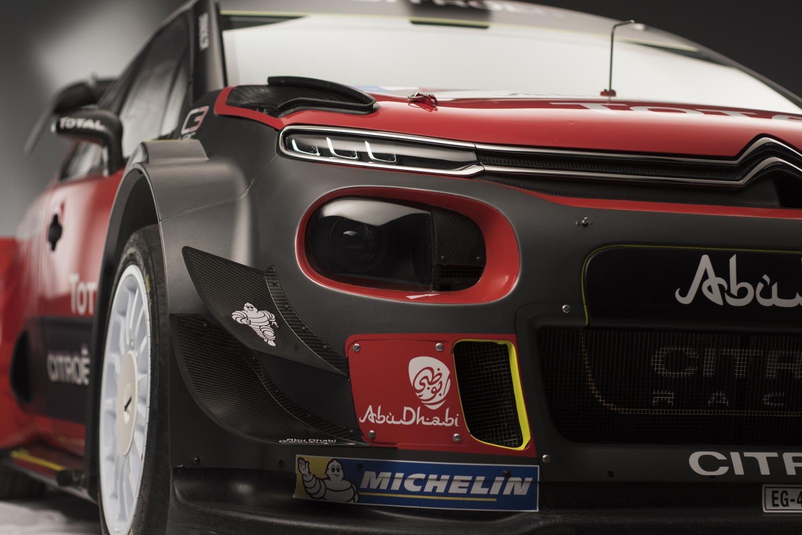 C3 WRC - 3/4 dianteira
