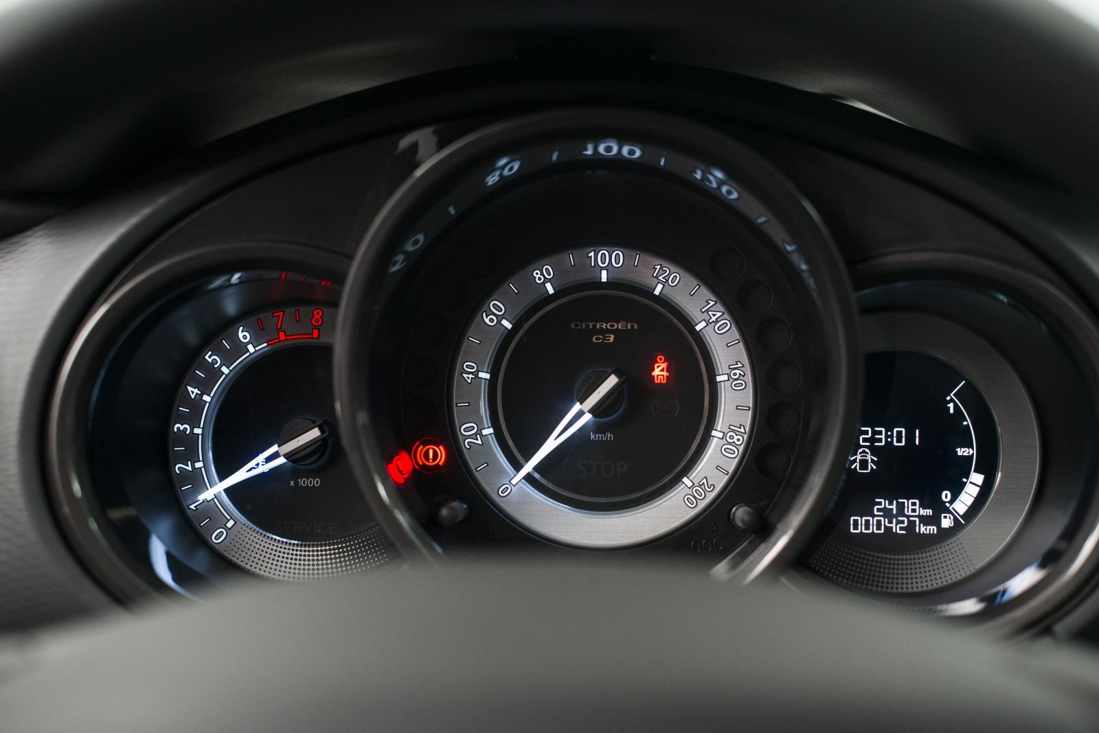 C3 Amérique Latine compteur de vitesse