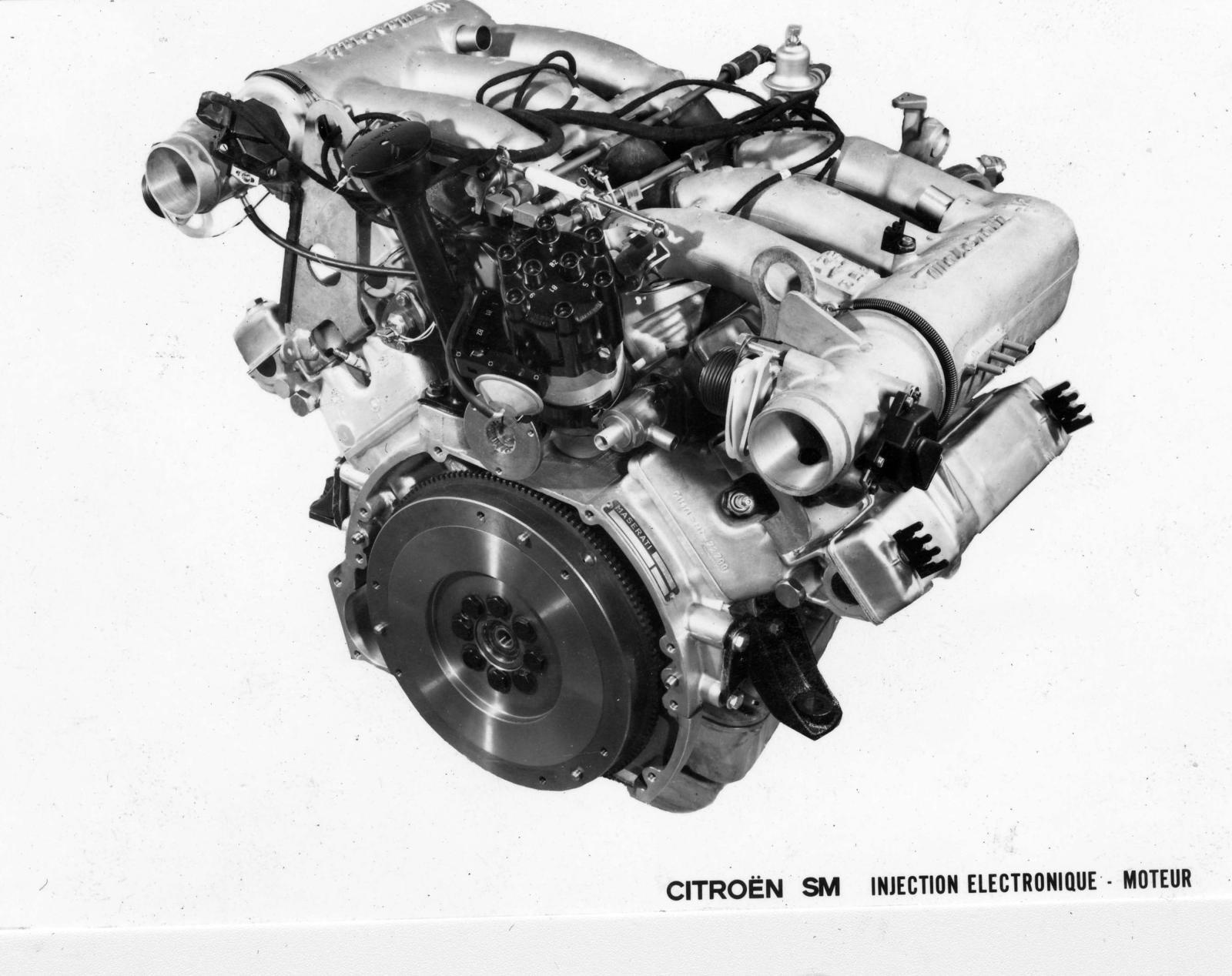 Motor com injeção eletrônica do SM