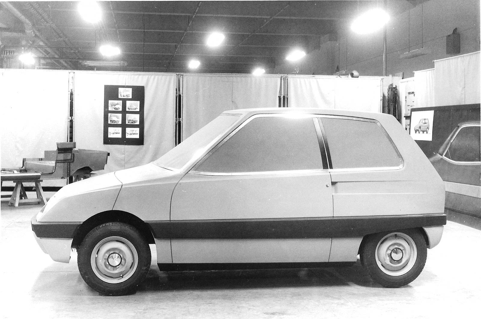 Prototype Z1 en plâtre