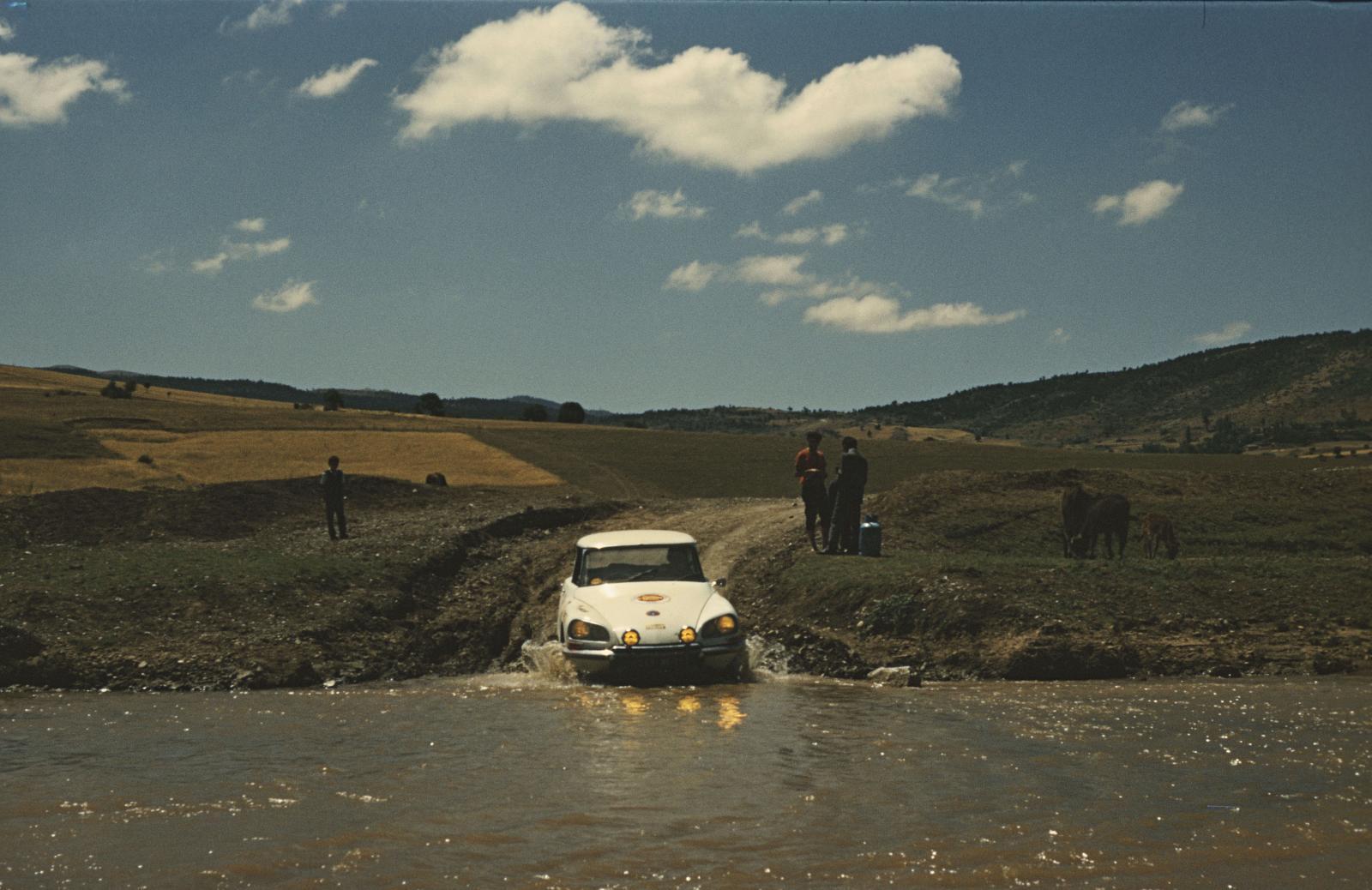 Rallye du Maroc - DS - 1970
