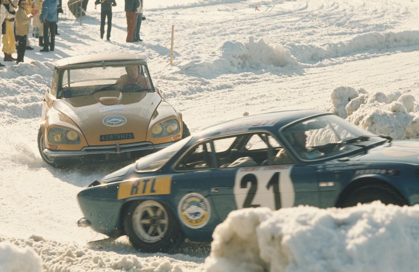 Ronda de inverno de Chamonix - DS 21 - 1972