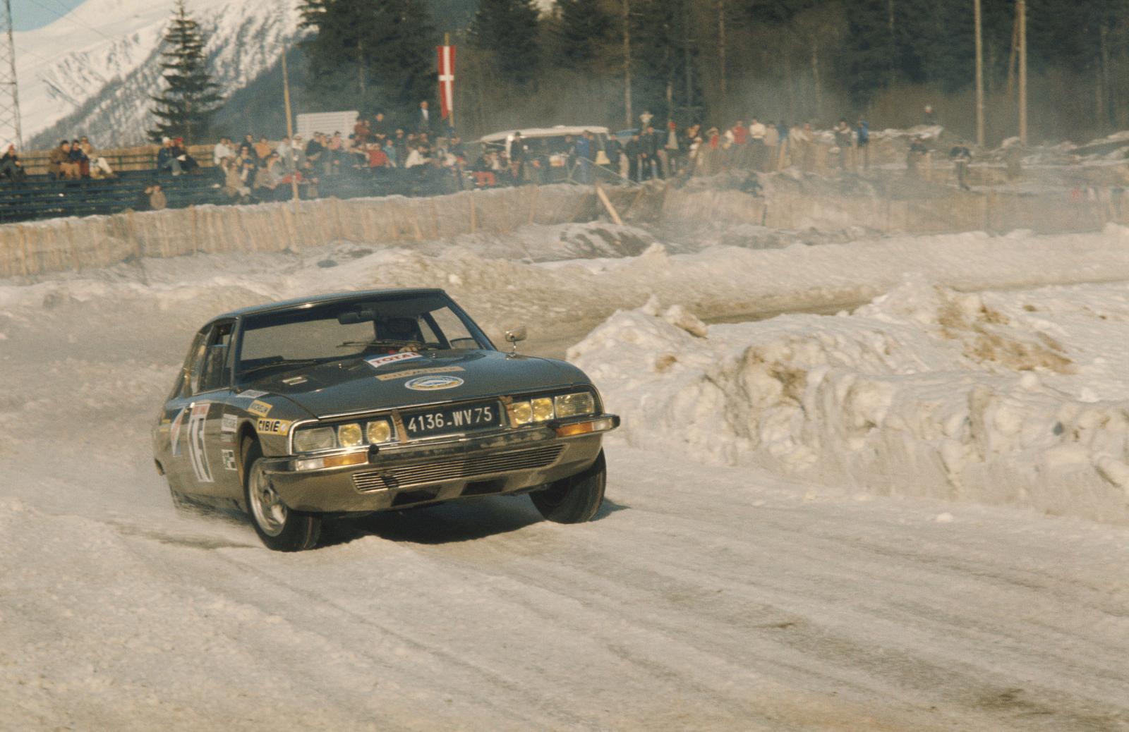 Ronda de inverno em Chamonix - SM - 1972