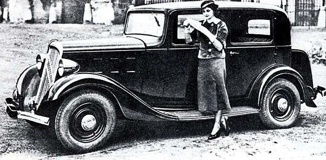 Rosalie 8 1934 prédécesseur de la Traction 7A