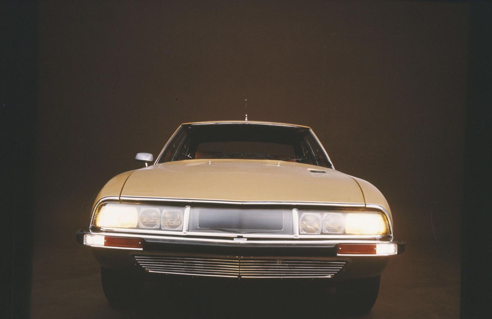 SM coupé de 1970