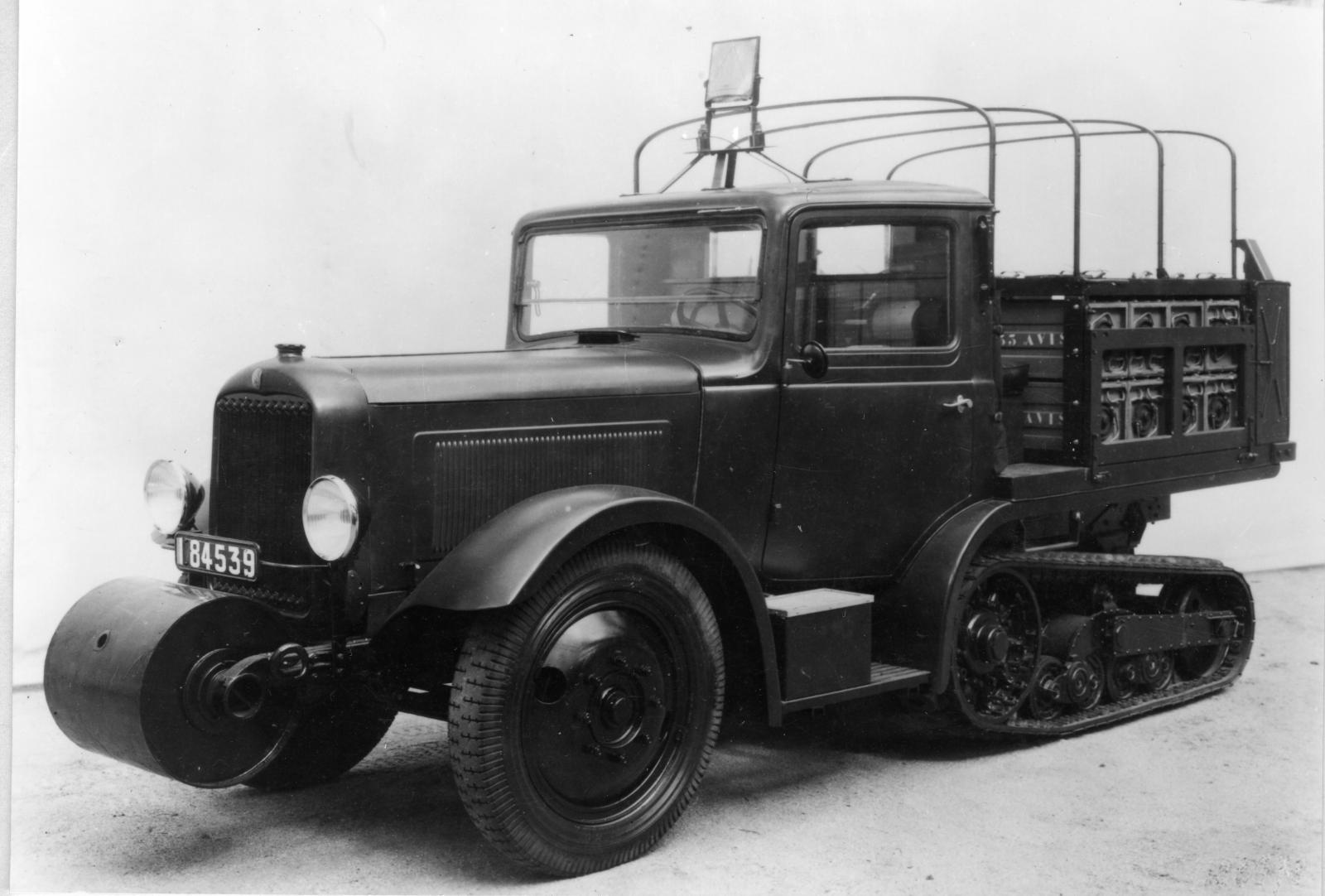 Tracteur chenille P 75