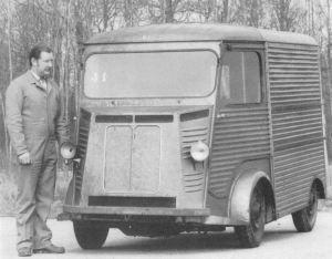 Type G 1949 projet de petit utilitaire dans l'esprit du TUB