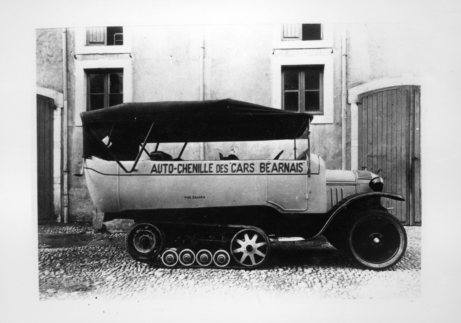 Typo K1 - Autochenille des Cars Béarnais