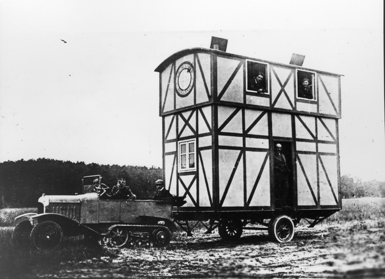 Tipo K1 - B2 casa rolante