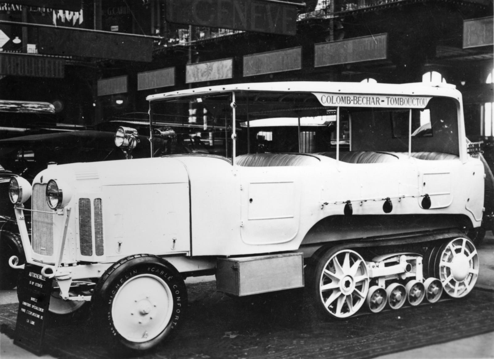 Tipo P6 - Veículo Raid Saara apresentado no Salão de 1924