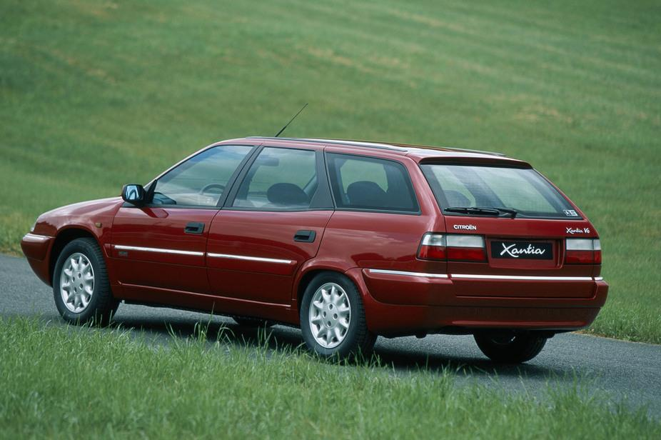 Xantia Break V6 Exclusive 1998 3/4 arrière