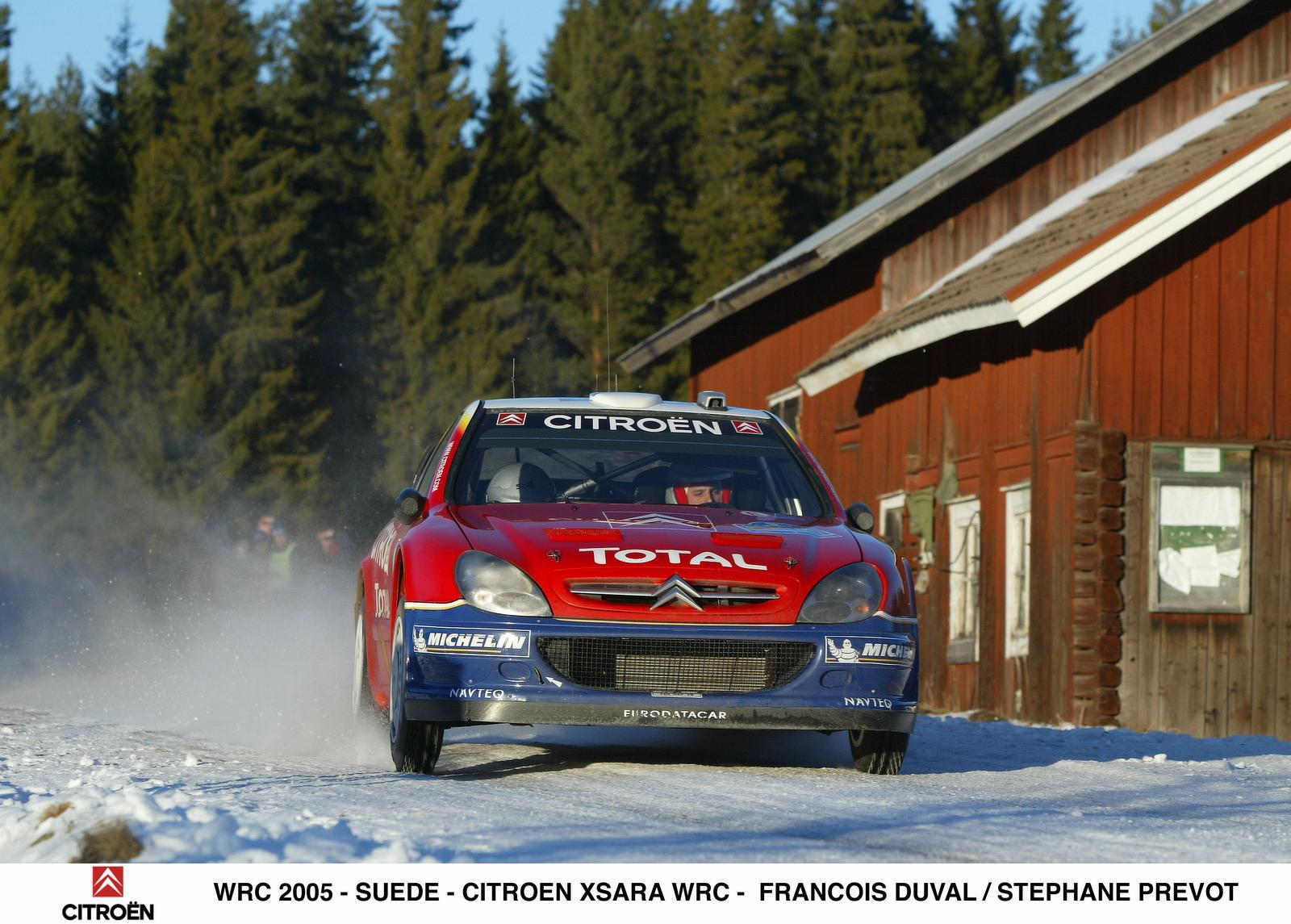 Xsara WRC 2005 en Suède