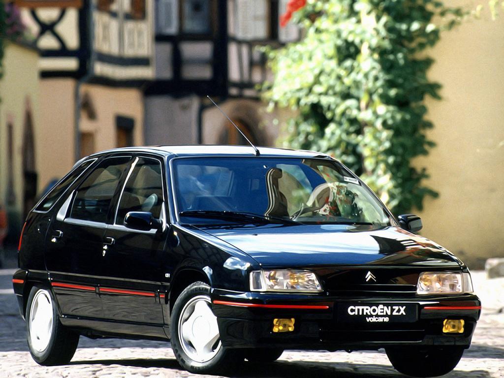 ZX Berline Volcane 1.9i 1991 3/4 avant