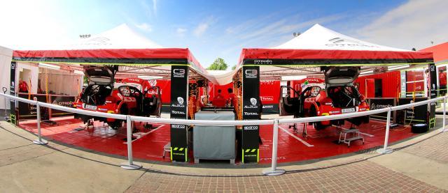 Stand Citroën Racing 2017