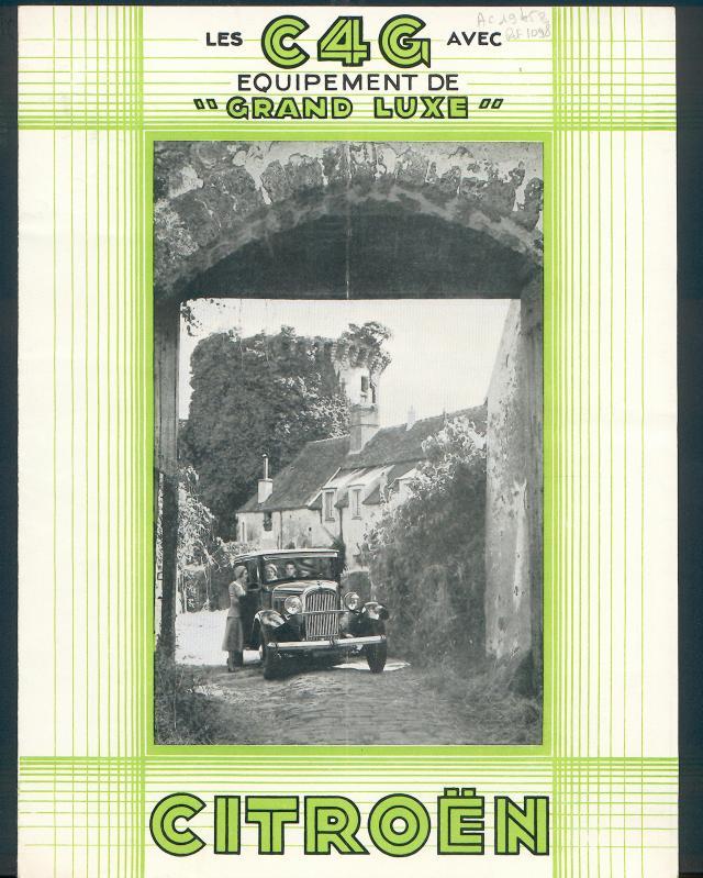 Brochure C4 Fourgon